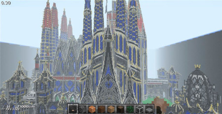 Sagrada Familia Minecraft