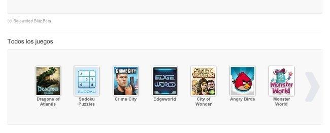 google plus catalogo lista juegos