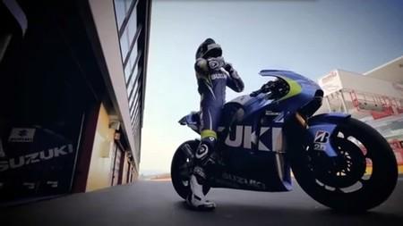 La Suzuki XRH-1 de MotoGP ahora en vídeo