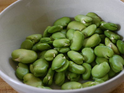 Haba fresca: una ligera fuente de proteínas y fibra