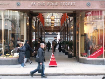 Old Bond street supera a la quinta avenida