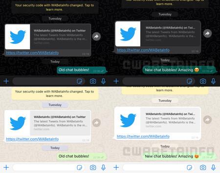 Wa New Chat Bubbles Ios