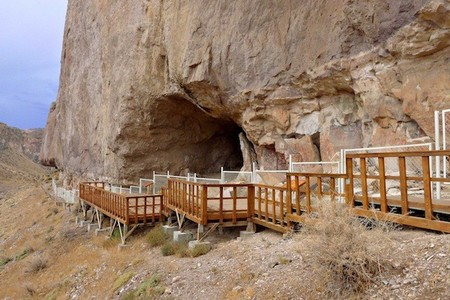 cueva manos pintadas patagonia