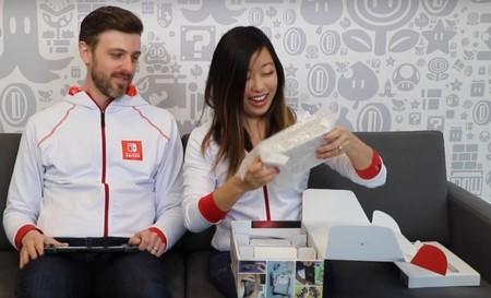 Es el momento perfecto para ver el unboxing oficial de Nintendo Switch