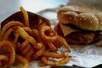 Dejar a un lado la comida basura. Propósito para el 2009