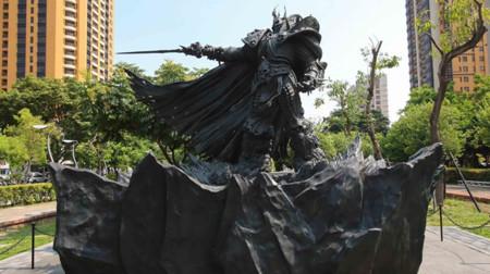 Blizzard celebra sus 25 años erigiendo esta colosal estatua de bronce en Taiwán