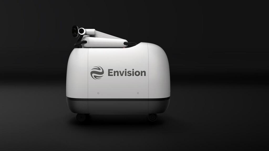 Este robot autónomo en realidad es un cargador par vehículos eléctricos: promete 600 km de autonomía en menos de dos horas