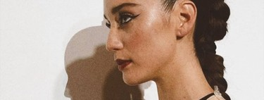 Te contamos cómo conseguir el maquillaje con eyeliner de María Pedraza paso a paso, según su maquillador