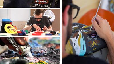 Unas mochilas muy originales en el proyecto solidario `Eastpak Artist Studio 2013´