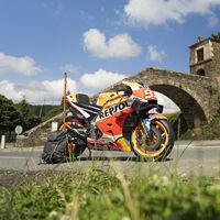 ¿El Camino de Santiago en moto? Solo si es en la Honda RC213V que pilota Marc Márquez en MotoGP