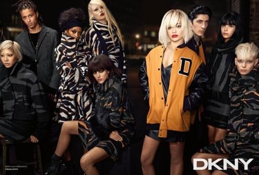 Rita Ora lidera la campaña Otoño-Invierno 2014/2015 de DKNY