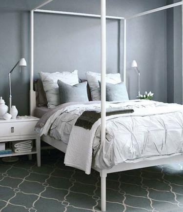 7 ideas para crear un dormitorio en gris