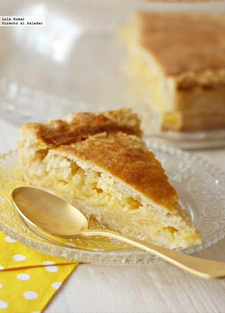 Tarta shaker de limón