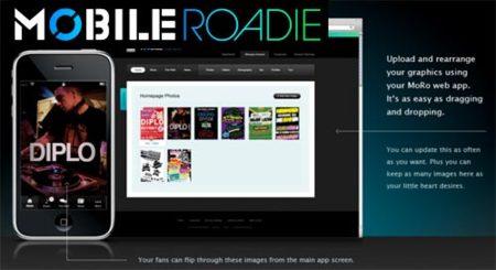Mobile Roadie: aplicaciones iPhone para grupos musicales