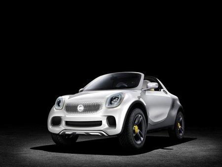 Daimler nos enseña el Smart for-us en Detroit