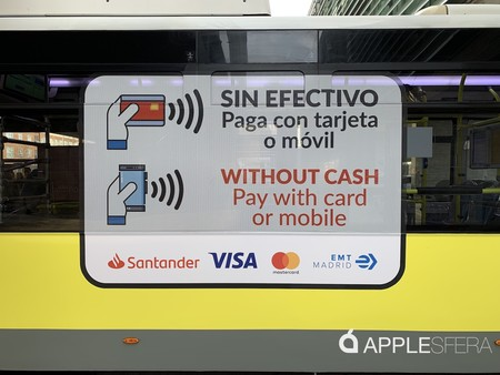 Apple Pay Emt Bus Madrid 3