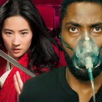 """'Tenet' contra 'Mulan', la """"batalla"""" que podría marcar el futuro de la industria del cine"""