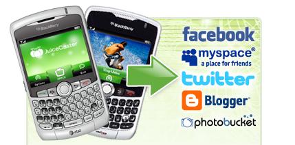 JuiceCaster, ahora para BlackBerry