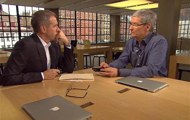Entrevista a Tim Cook en NBC