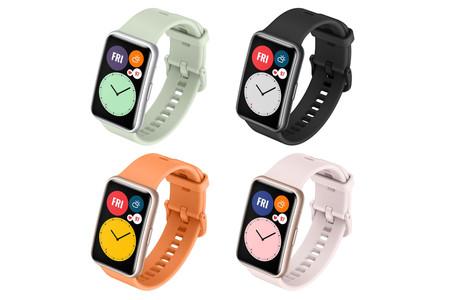 Huawei Watch Fit: filtrado el posible nuevo smartwatch de Huawei con pantalla rectangular alargada