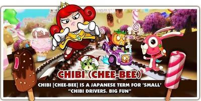 Chibi Kart busca fusionar un MMO con un juego de carreras
