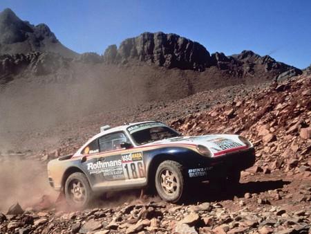 Ickx Dakar Porsche