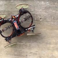 El nuevo robot de Disney es capaz de escalar paredes sin temor a las alturas