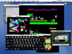 zxsp, Emulador de ZX Spectrum para Mac OS X