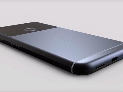 Nuevos detalles del diseño del Pixel XL de Google, dimensiones incluidas