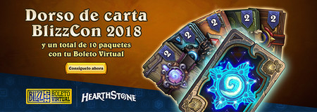 hearthstone regalo blizzcon 2018