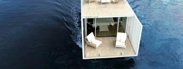 Un gran diseño y la domótica más avanzada se integrarán en el alojamiento flotante Punta de Mar