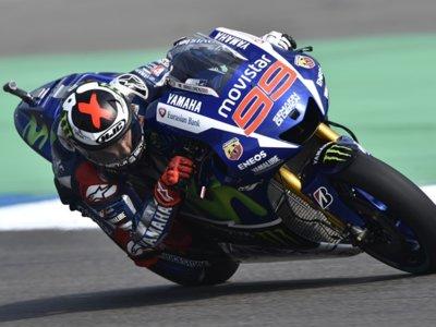 Una sobre neumáticos Bridgestone, Jorge Lorenzo, la prensa y el Gran Premio de Holanda