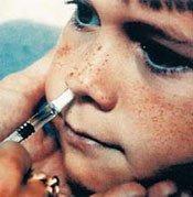 Vacunas con atomizador más eficaces que inyectadas, Flumist