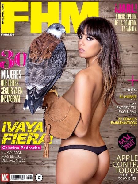 Cristina Pedroche se corona la más sexy de FHM ¡y toma portada!