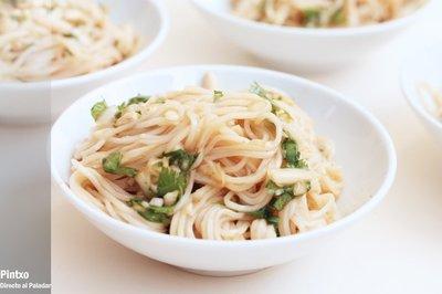 Receta de noodles picantes