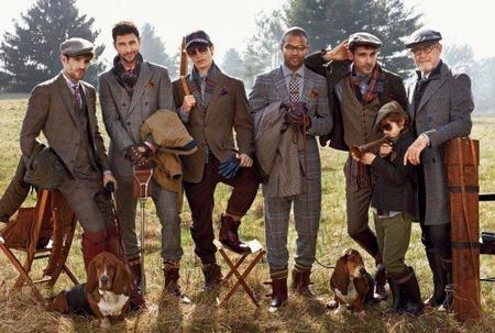 Los Hilfiger se van de caza en su campaña Otoño-Invierno 2012/2013