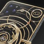 """Este concepto de iPhone 11 adornado con meteoritos, piedras lunares y partes de naves espaciales te costará """"sólo"""" 45.000 euros"""