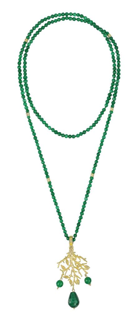 Ig Collar Largo Con Jade Pvp 225