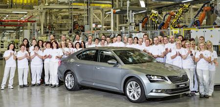 Comienza la producción del nuevo Škoda Superb