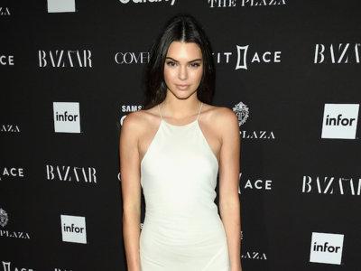 Kendall Jenner se convierte en la invitada más novia del fiestón de Harper's Bazaar en Nueva York