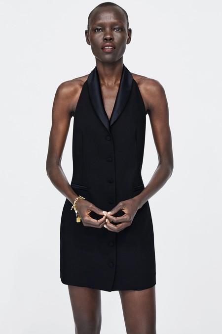 Vestido Zara Fiesta Lbd 11