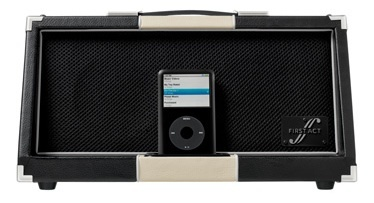 First Act DK1000: amplificador con dock para iPod
