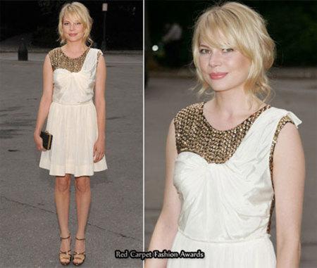 Michelle Williams y su little-white dress