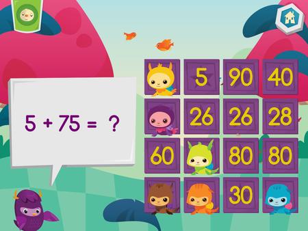 Moose Math Pet Bingo