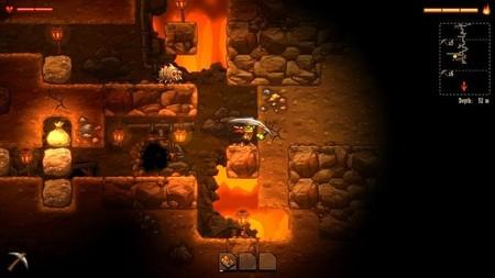 SteamWorld Dig ya vislumbra su salida en Wii U