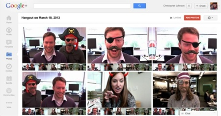 hangouts capture google plus videoconferencia