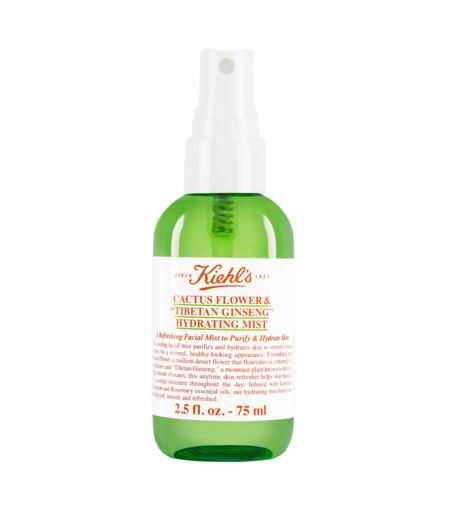 Refresca e hidrata tu rostro con la nueva bruma de cactus y ginseng de Kiehl's