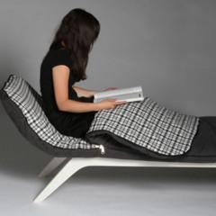 Foto 2 de 3 de la galería chaise-longue-con-saco-de-dormir en Decoesfera