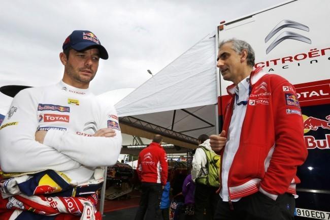 Dani Sordo y Sébastien Leob