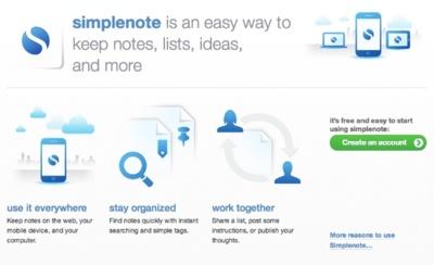 Automattic compra Simperium, o lo que es lo mismo: Wordpress se queda con Simplenote